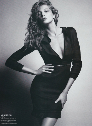 Daria Werbowy Vogue Paris February 2011 Mario Sorrenti11